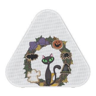 Halloween Black Cat Bluetooth Speaker