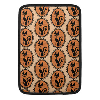 Halloween Black Cat Cameo MacBook Air Sleeve