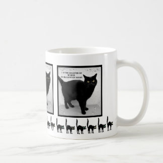 Halloween Black Cat Coffee Mug