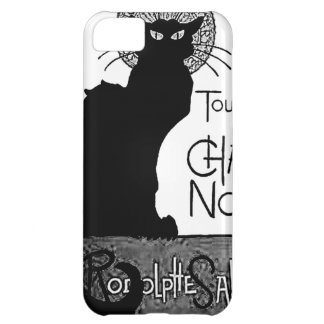 Halloween Black Cat French Words Chat Noir Text iPhone 5C Cover