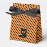 Halloween Black Cat Gift Bag Favor Box