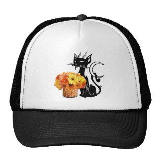 Halloween Black Cat Hat