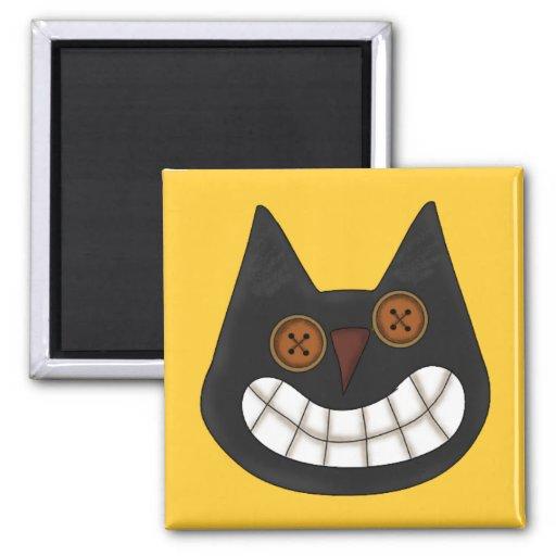Halloween Black Cat Magnet