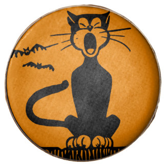 Halloween Black Cat, Milk Chocolate Dipped Oreo Co
