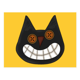 Halloween Black Cat Postcards