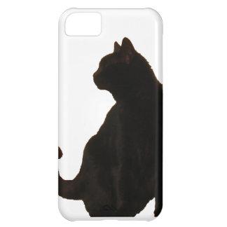 Halloween Black Cat Silhouette Case For iPhone 5C
