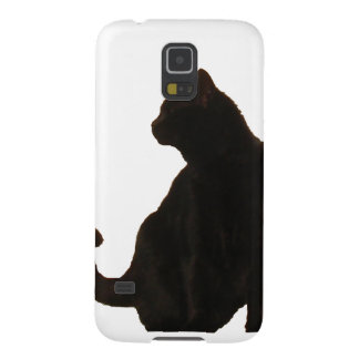 Halloween Black Cat Silhouette Galaxy S5 Cover