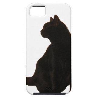 Halloween Black Cat Silhouette iPhone SE/5/5s Case