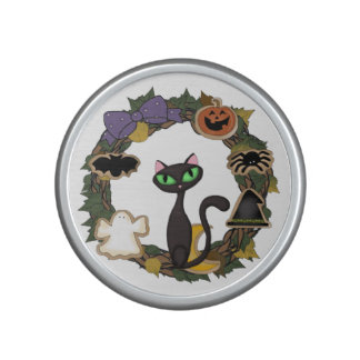 Halloween Black Cat Speaker