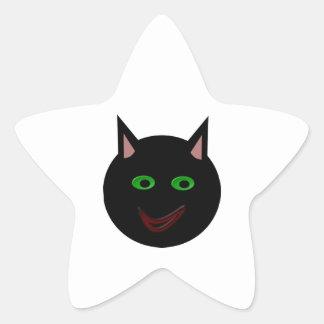 Halloween Black Cat Stickers