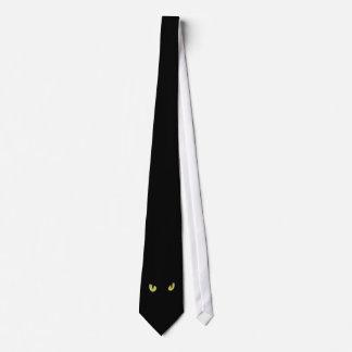 Halloween Black Cat Tie