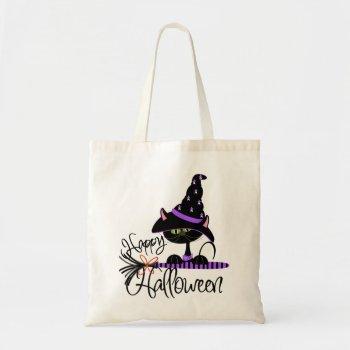 Halloween Black Cat Trick or Treat bag! bag