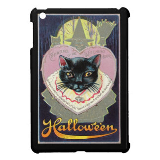 Halloween Black Cat Witch Charm Spell Vintage iPad Mini Cases