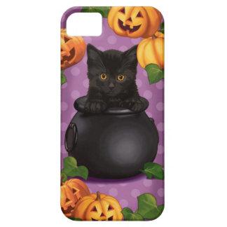 Halloween Black Kitty iPhone SE/5/5s Case