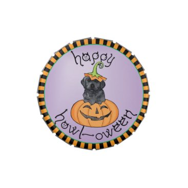 Halloween Themed Halloween Black Lab Jelly Belly Tins
