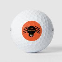 Halloween Black Spider Golf Ball