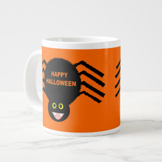 Halloween Black Spider Mug 20 Oz Large Ceramic Coffee Mug