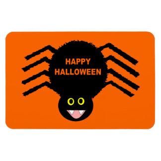 Halloween Black Spider Premium Magnet