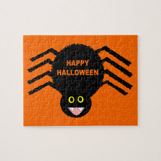 Halloween Black Spider Puzzle