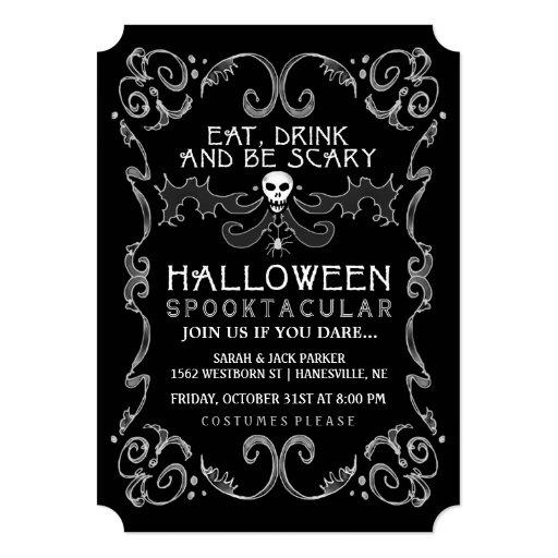 Free Halloween Invitations Online was amazing invitations ideas