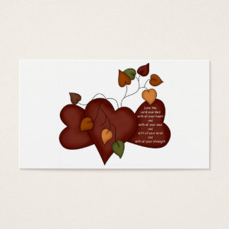 Halloween Blessings for Trick or Treaters - Luke Business Card