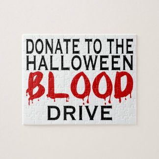 Halloween Blood Drive Jigsaw Puzzle