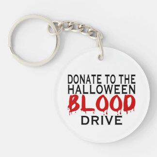 Halloween Blood Drive Keychain
