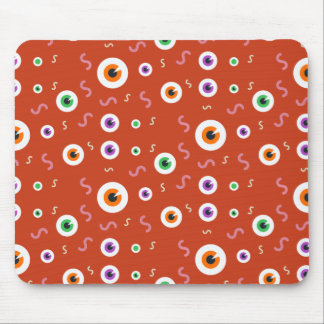 Halloween Bloody Eye Pattern Mouse Pad