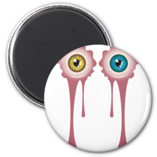Halloween Bloody Eyeball 2 2 Inch Round Magnet