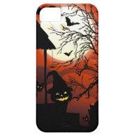 Halloween Bloody Moonlight Nightmare iPhone 5/5S Cover