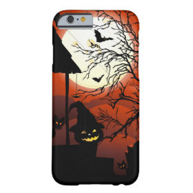 Halloween Bloody Moonlight Nightmare Barely There iPhone 6 Case
