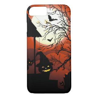 Halloween Bloody Moonlight Nightmare iPhone 7 Case