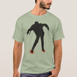 Halloween Bloody Zombie T-Shirt