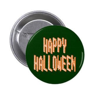 Halloween Blox Text 2 Inch Round Button
