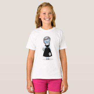Halloween Blue Ghoul Girl T-Shirt