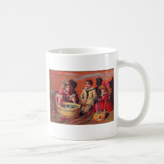 Halloween Bobbing For Apples Coffee Mug
