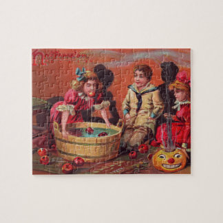 Halloween Bobbing For Apples Puzzles