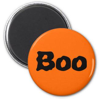 "Halloween ""Boo"" 2 Inch Round Magnet"