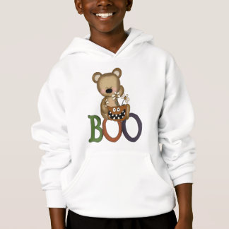 Halloween Boo Bear Hoodie