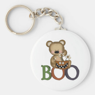 Halloween Boo Bear Keychain