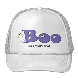 Halloween Boo Did I Scare You? (Purple) Hat