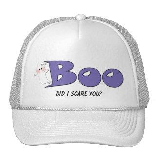 Halloween Boo Did I Scare You? (Purple) Hat