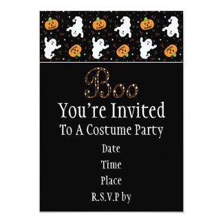 Halloween Boo Invitation
