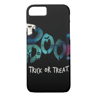 Halloween boo iPhone 7 case