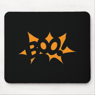 Halloween Boo Mouse Pad