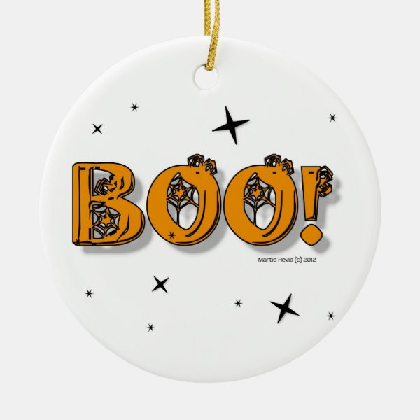 Halloween Boo! Ornament