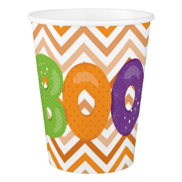 Halloween Themed Halloween Boo Paper Cup
