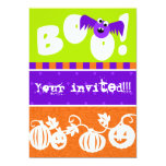 Halloween Boo Party Invite