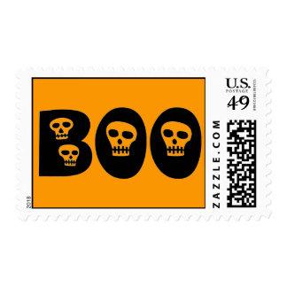 "Halloween ""Boo"" Postage"