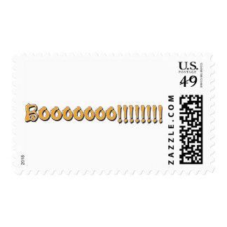 Halloween Boo Postage Stamp